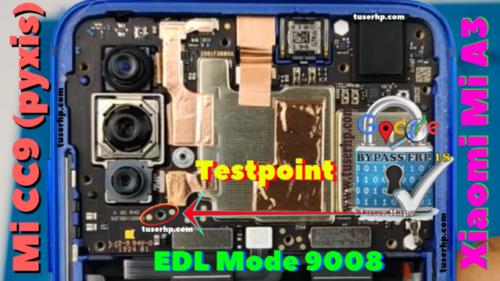 test point на Xiaomi Mi CC9 (Mi A3)